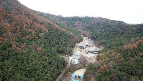 국립나주숲체원 조성 현장1.JPG