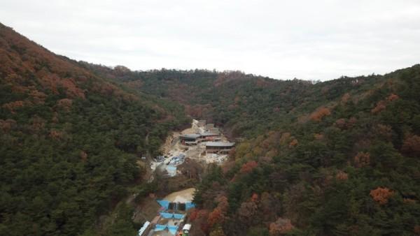 국립나주숲체원 조성 현장2.JPG